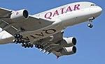 Twenty main wheels of Qatar Airways A380 (A7-APD) arr London Heathrow 10Sept2015 arp.jpg
