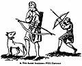 Two Saxon Archers (Joseph Strutt).jpg