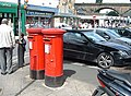 Two pillar boxes - geograph.org.uk - 912780.jpg