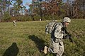 U.S. Army Sgt. Anthony Calvi, an infantryman with Alpha Company, 1st Battalion, 124th Infantry Regiment, Florida Army National Guard, rushes through an ambush during the Department of the Army's Best Warrior 131120-A-VU705-215.jpg