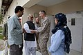 U.S. Marine Corps Gen. Joseph F. Dunford, second from right, the commanding general of the International Security Assistance Force, shakes hands with Helmand provinical Gov. Naeem Baluch, second from left, after 130729-M-RF397-069.jpg