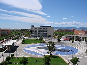 Jaume I University - Agora and Library of Jaume I University