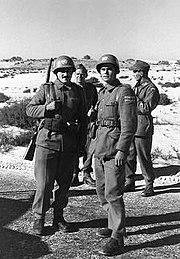 UNEF Yugoslav soldiers 15-01-1957