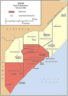 American-led UN peacekeeping mission in Somalia
