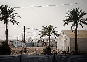 Siege of Fallujah (2016) - The refugees in Abu Ghraib camp
