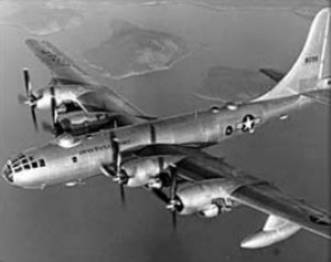 Boeing B-50 Superfortress - A Boeing B-50D