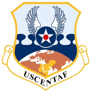 Organization of United States Air Force Units in the Gulf War - Emblem of the United States Central Command Air Forces, 1990