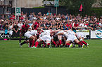 USO - RCT - 28-09-2013 - Stade Mathon - Introduction en melée.jpg