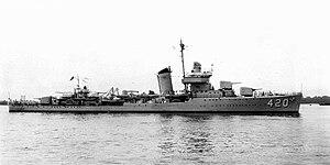 USS Buck (DD-420)
