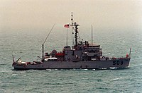 USS Adroit (MSO-509) in the Persian Gulf 1991.jpeg