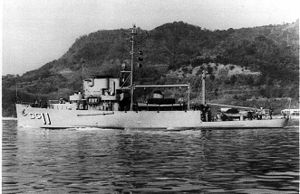 USS Ampere - Image: USS Ampere (ADG 11)