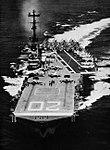 USS Bennington (CVA-20) at sea, circa in early 1958.jpg