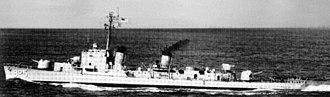 USS Carpenter (DD-825) - USS Carpenter in 1957.