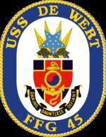USS DeWert FFG-45 Crest.png