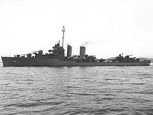 USS Macdonough (DD-351) - Macdonough in 1943.