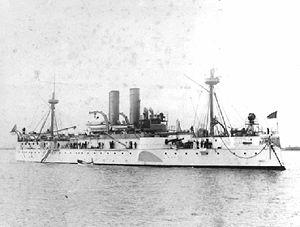 砲塔装甲艦「メイン(USS Maine)」