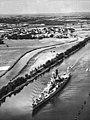 USS Newport News (CA-148) in the Kiel Canal 1962.jpg