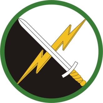 1st Information Operations Command (Land) - 1st IOC shoulder sleeve insignia