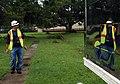 US Navy 080902-N-3285B-036 Kevin Macias assesses the damage from Hurricane Gustav.jpg