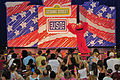 US Navy 110722-N-IZ292-006 Elmo greets the audience during a Sesame Street Live children's show at Naval Support Activity Naples during a USO and t.jpg