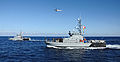 US Navy 111205-N-FV216-156 The Armed Forces of Malta counter piracy vessel protection detachment demonstrates aerial boarding procedures during Eur.jpg