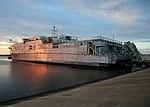 US Navy 170701-N-OH262-002 USNS Yuma (T-EPF-8) pier-side.jpg