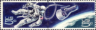 US Space Walk 1967 Issue-5c
