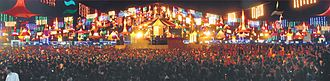 Vadodara - United Way of Baroda Garba Festival in 2011