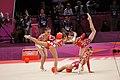 Ukraine Rhythmic gymnastics at the 2012 Summer Olympics (7915634182).jpg