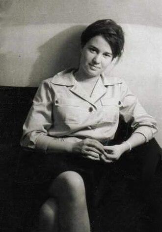 Ulrike Meinhof - Ulrike Meinhof as a young journalist, around 1964