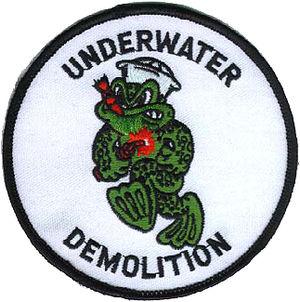 Underwater Demolition Team - Image: Underwater Demolition Teams shoulder sleeve patch
