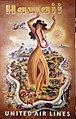 United Air Lines Hawaii Poster (19471602212).jpg