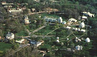 United States Naval Observatory - Aerial view of the U.S. Naval Observatory