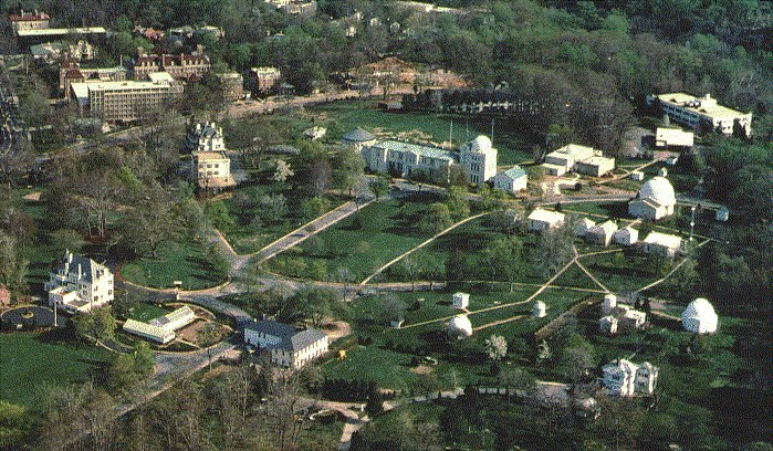 United States Naval Observatory.aerial view