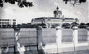 University of Santo Tomas - The University of Santo Tomás campus in Sampaloc (circa 1940's).