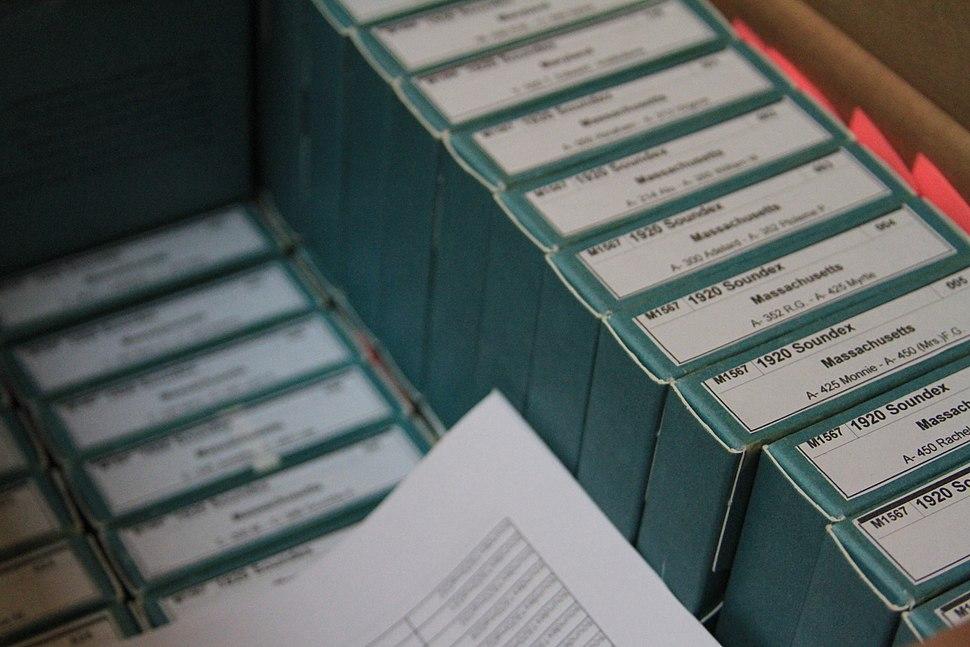 Unrelated Microfilm