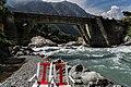 Ushu River bridge in Matiltan 2013-06-11.jpg