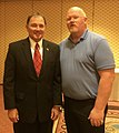 Utah Governor Gary Herbert with Oregon State Teacher of the Year Brett Bigham.jpg