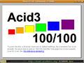 Uzbl screenshot Acid3.png