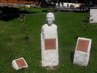 Josef Váchal - Memorial of Josef Váchal in Prášily