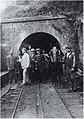 Víctor Méndez Trelles, alcalde de Mieres, visitando mina Baltasara con otras autoridades.jpg