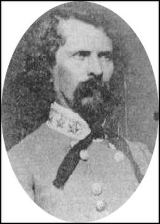 Earl Van Dorn - Earl Van Dorn in his Confederate general officer's uniform