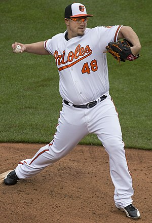 Vance Worley - Worley with the Baltimore Orioles