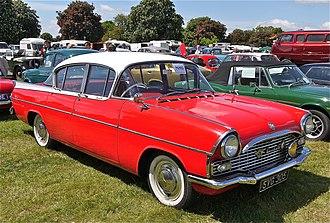 Vauxhall Cresta - PA SY 1961