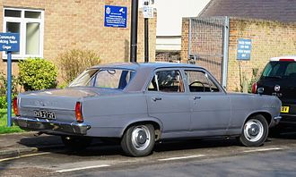 Vauxhall Cresta - Vauxhall Cresta PC from behind)