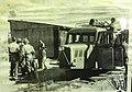 Vauxhall railbus on the two foot gauge Lake Margaret tram in South Western Tasmania.jpg