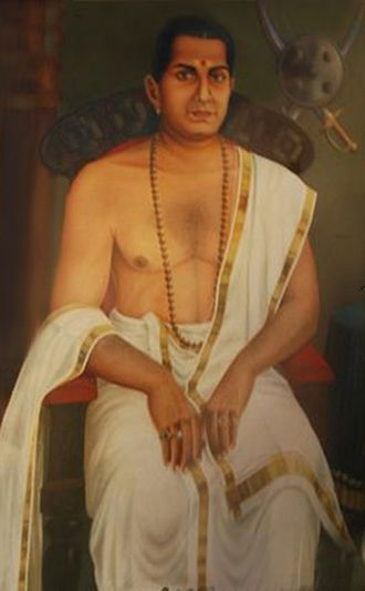 Wayanad district - Veera Kerala Varma Pazhassi Raja, painting by Raja Ravi Varma