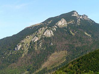 Choč Mountains - Veľký Choč, highest peak of the Choč Mountains