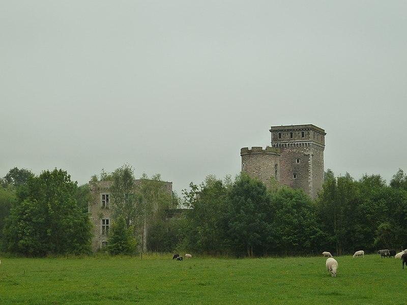 Château de Seraing-le-château, Verlaine, Belgique