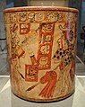 Vessel with Battle Scene, 600-900 AD, Mesoamerica, Guatemala, Nebaj region, Maya, ceramic and slip, view 1 - Cleveland Museum of Art - DSC08798.JPG